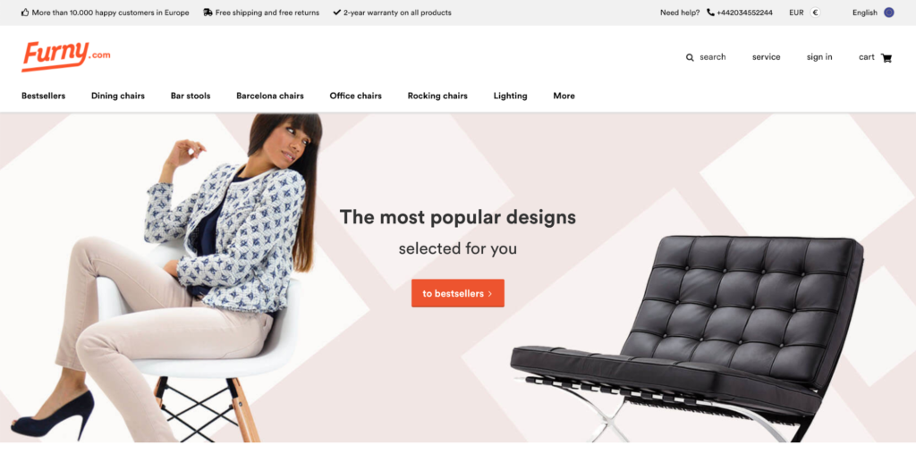 Popfurniture.com Is Another Similarly Built Store. It Also Has A  Multi Language Feature. It Utilizes A Popup Promo To Gather Customer Email  Addresses In ...